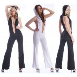 Kylie Wasserfall Overall Body Jumpsuit Hosenanzug