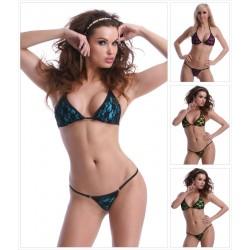 Neckholder Ministring Bikini mit Spitze