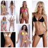 Neckholder Mini String Bikini mit Strass