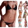 Neckholder Mini String Bikini mit 2 Strass