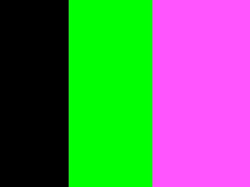 Schwarz-Neongrün-Neonpink